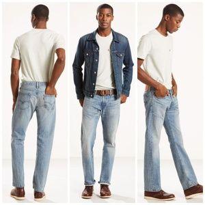 LEVI'S 514 Vintage - Light Wash Jeans 36